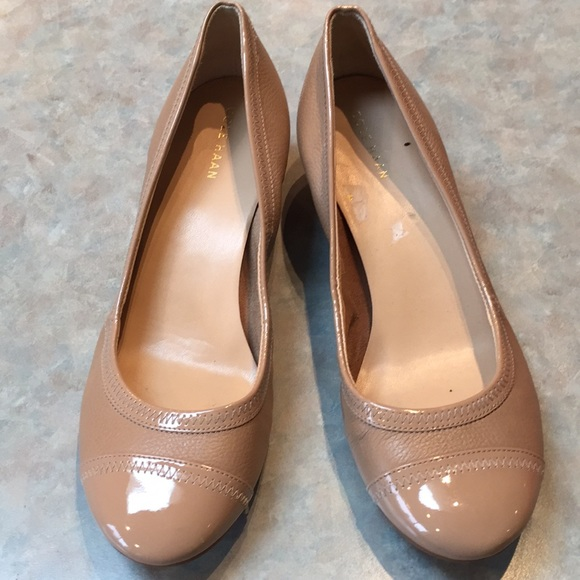 Cole Haan tan leather flats